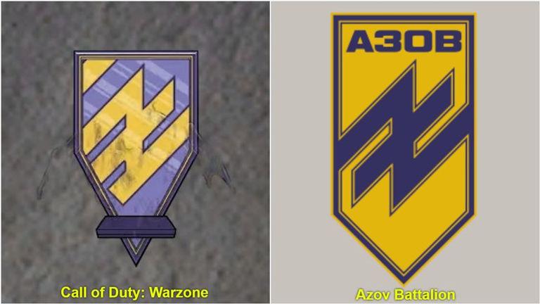 Call of Duty Warzone'da Neo-Nazi sembolü