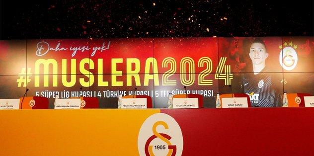 Galatasaray Fernando Muslera ile nikah tazeledi! 3 yıl daha…