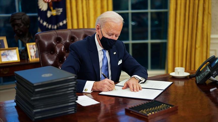 Biden imzaladı! ABD'de saatlik asgari ücret 15 dolar