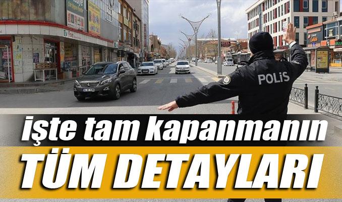 Erdoğan açıkladı: Tam kapanma dönemi! İşte tüm detaylar