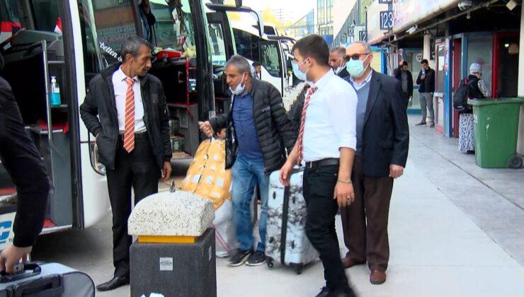 İstanbul'dan kaçış başladı