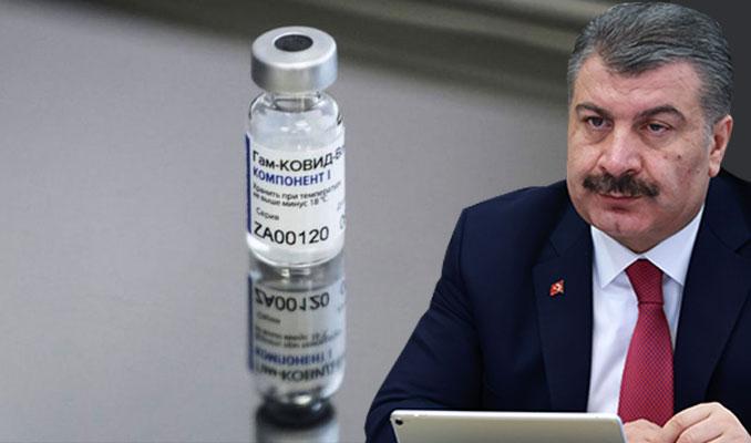 Koca'dan Rus aşısı açıklaması: Türkiye'ye gönderiliyor