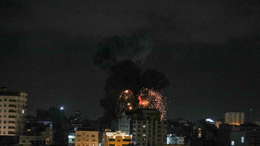 2 Filistinli daha şehit! Gazze'ye İsrail bombardımanı sürüyor