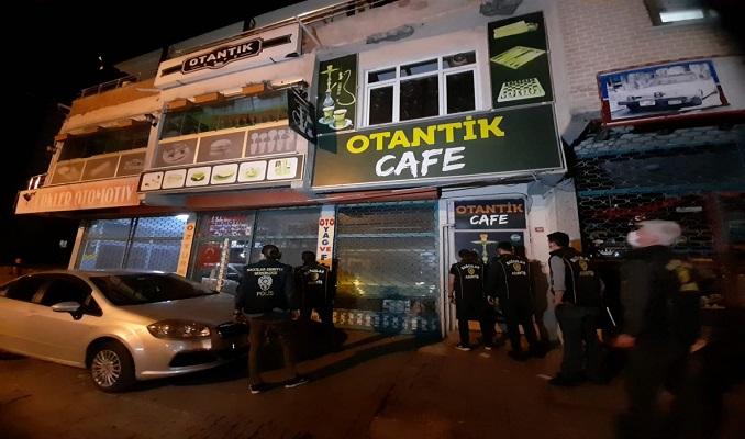 6 mekana kumar baskını: 95 kişiye ceza kesildi