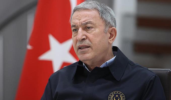 Bakan Akar'dan Yunanistan'a tepki!