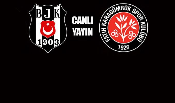 Beşiktaş: 0 – Fatih Karagümrük: 1