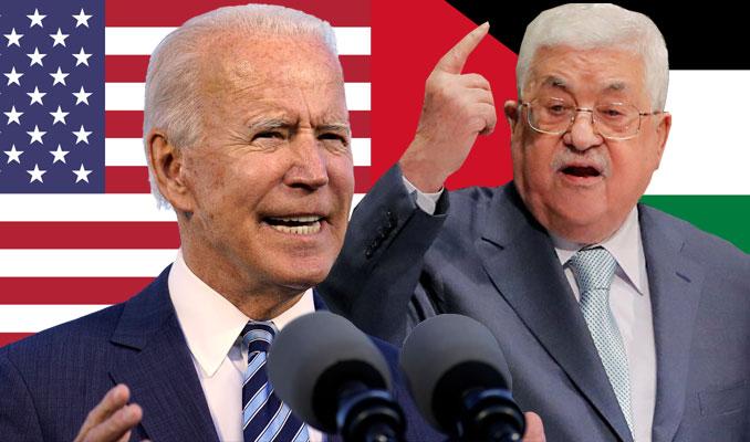 Biden'dan Filistin'le ilk temas