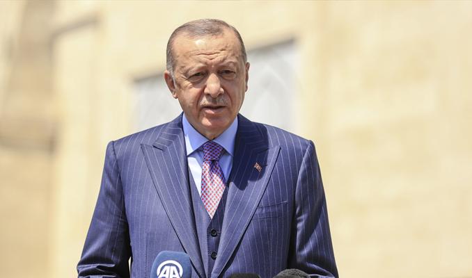 Cumhurbaşkanı Erdoğan'dan 'yeni anayasa' yorumu