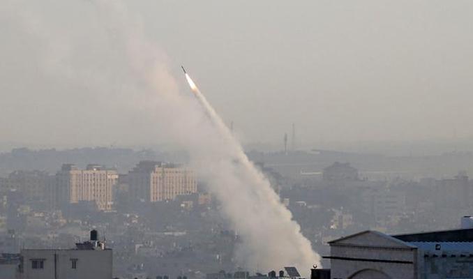 Gazze'den Batı Kudüs'e roket saldırısı: Hamas üstlendi