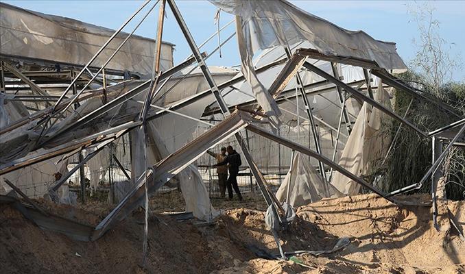 İsrail saldırıları, Gazze'de tarım sektörüne yaklaşık 2 milyon dolar zarar verdi