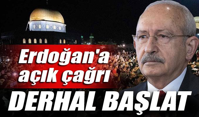 Kılıçdaroğlu'ndan Erdoğan'a açık çağrı