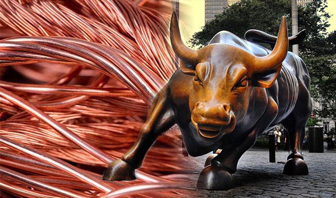 Küresel yatırımcılar bakırdaki boğa piyasasına akın ediyor