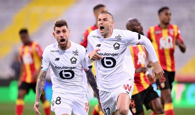 Lille, Burak'la şampiyonluğa koşuyor