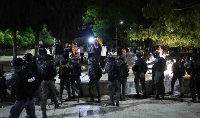 Mescid-i Aksa'daki saldırıya Türkiye'den tepki yağdı