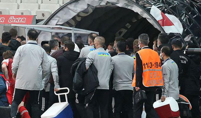 TFF, Beşiktaş – Karagümrük maçı sonrası o görüntüleri istedi!