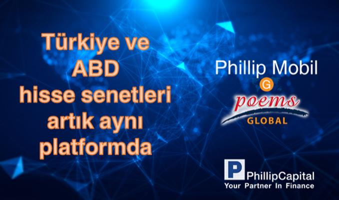 Türkiye ve ABD hisseleri artık aynı platformda: PhillipMobil G