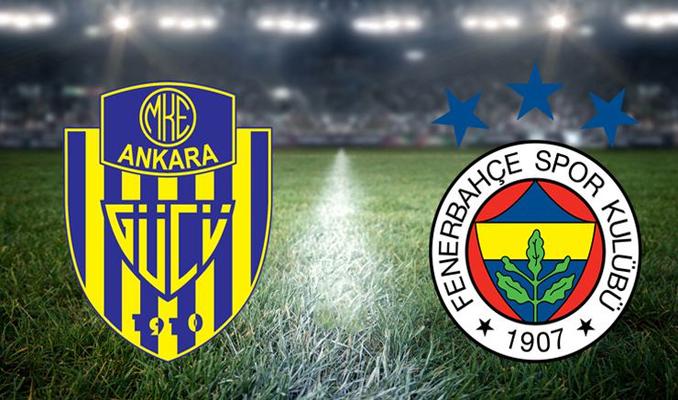 Zirve mücadelesi veren Fenerbahçe, Ankaragücü'ne konuk oluyor